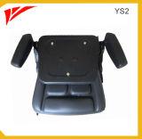 A peça do Forklift Dobra-acima o assento do Forklift com corrediça e braço (YS2)