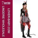 Costume пирата девушок Costume Halloween (L15350)
