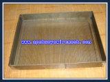Feuille de perçage recouvert de zinc et garniture métallisée perforée (ISO 9001)
