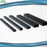Tamaños rectangulares de acero del tubo del metal
