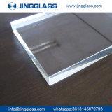 Puerta grande clara plana al por mayor de la ventana del cristal de flotador de las hojas