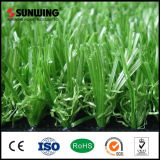 China-Fabrik-niedrige Kosten, die das künstliche Garten-Gras im Freien mit SGS landschaftlich verschönern