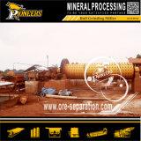 Hohe Kapazitäts-Bergbau-reibendes Geräten-nasses langes Kugel-Mineraltausendstel