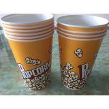 Wegwerfpapierpopcorn-Cup/Filterglocken/Nahrungsmittelwanne