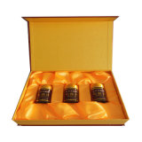 Cadre de luxe de paquet de bouteille de vin de type de garde-robe de carton, boîtes en gros à vin de carton, cadres de empaquetage
