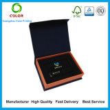 Kundenspezifischer Drucken-Pappe-USB-Geschenk-Kasten mit Schaumgummi-Einlage