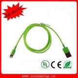 USB que cobra o cabo de dados da sincronização para iPhone5