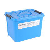 HDPE Solid Color Plastic Storage Box con Handle (SLSN053)