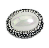 Manera Round Pearl Bead para Necklace Bracelet Accessory Jewelry