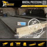 木製の金の採鉱設備の鉱石の機械装置の振動表のコンセントレイタの工場