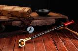 Seltenes langes hölzernes Ebenholz-rauchender Tabak Pipe Smoking Rohre