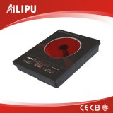 Hot Selling Ultra Slim Metal Housing Double Circle Infrared Cooker
