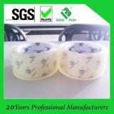 50mic nastro eccellente dell'imballaggio di sigillamento della scatola della radura BOPP