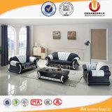 Sofà di cuoio della Cina, mobilia del salone, qualità di prezzi di fabbrica buona (UL-Z080)