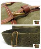 Più nuovi sacchetti lavati della cartella del sacchetto dell'allievo del banco del tessuto della tela di canapa (RS-2012P)