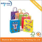 Children (QYZ231)를 위한 주문을 받아서 만들어진 Gift Kraft Paper Bag Cute Style