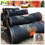 Discharge di gomma Dredging Hose con Steel Flange