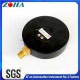 Medidores de presión comunes de 6 pulgadas 160 psi para medición de presión de gas o líquido