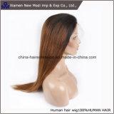 Parrucca anteriore del merletto di colore brasiliano dei capelli umani due