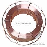 Alambre de soldadura del CO2/alambre de soldadura sólido/alambre suave de la soldadura al acero