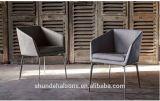 Plutônio moderno de Sytel que janta a cadeira com pé inoxidável do frame de aço (DC023)
