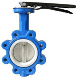 Gear BoxのJIS Cast Iron 10k Butterfly Valve