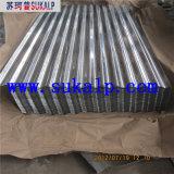 Corrugated алюминиевый лист