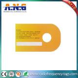 Cartão plástico do canto redondo RFID com impressão de cor cheia