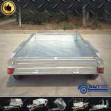 Quality garanti Heavy Customized Tandem Trailer avec Reasonable Price