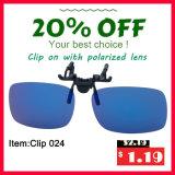 Client Plastique réutilisable Circulaire Polarisé 3D Clip-on Eyewear Lunettes