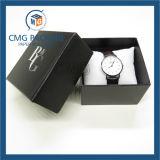 Красивейшая Handmade голубая коробка упаковки бумаги ювелирных изделий (CMG-PJB-046)