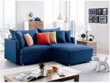 Rojo de la tela Sofá cama para uso de la casa (SB015)