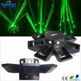 Lumière à rayon laser d'exposition de laser d'étape d'UFO
