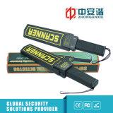 Hohe kompakte Ton-/Schwingung-Warnungs-Handmetalldetektoren