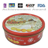 250g Red Tin Butter Cookie pour Christmas Day