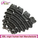 Les cheveux humains brésiliens de fabricant de cheveux de Xbl cousent en armure