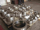 Flanges de aço refractário de aço inoxidável 0Cr18Ni9