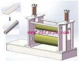 Placa de borracha de dois rolos que rola a máquina hidráulica