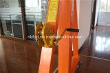 Grue de portique réglable d'entrepôt de main de hauteur durable jaune en gros de treuil (FT2-0.5)