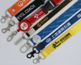 Identificazione Card Holder Lanyard con Customer Logo Printing