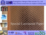 Leather quente Paper/Wrapping Paper para Paper Bag/Paper Box/Gift Box Use (no. KG017)