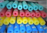 Matériaux chauds personnalisés de mousse de la vente EPE pour le tube de mousse de natation