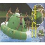 Шлюпка диско раздувная надувает UFO игры воды раздувной шальной