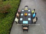 Hc-GF-D62鋳造アルミまたは鉄の庭の家具セット