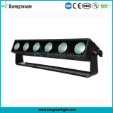 Rgbaw Outdoor luzes LED IP65 DMX512 LED Wall Washer
