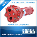 DHD Cop Misión Serie DTH bits para perforar pozos de agua