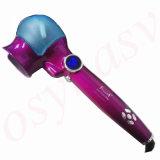 Bigodino di capelli automatico di titanio con cura di capelli dello spruzzo del vapore che designa i capelli magici Styler del ferro di arricciatura dell'onda degli strumenti del rullo di ceramica dei capelli LED