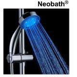 Cabeça de chuveiro Handheld do diodo emissor de luz dos mercadorias sanitários de China para o banheiro