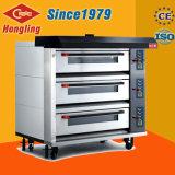 Tellersegment-automatischer elektrischer Brot-Backen-Ofen des Mikrocomputer-Panel-3 der Plattform-9