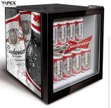 Refrigerador da parte superior contrária do refrigerador do indicador do hotel refrigerador do indicador da barra do mini mini